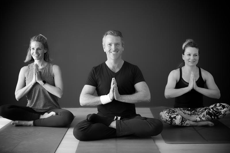 Group yoga session - Ben Mellon Yoga